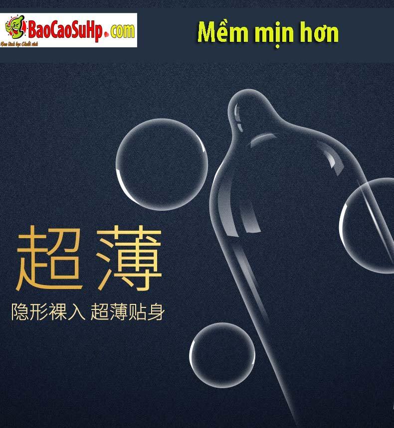 Durex Prenium Fetherlite Prenium 5 - Bao cao su Durex Prenium Fetherlite 18c Mix 3 loại siêu mỏng!!!
