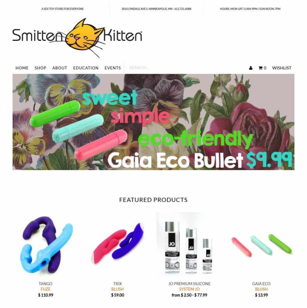 Shop sextoy Smitten Kitten - Top 10 website bán Sextoys trực tuyến hàng đầu thế giới hiện nay.