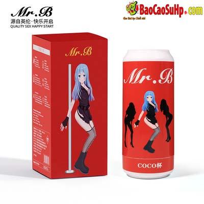Cốc âm đạo giả lon bia Nhật Bản Mr B Eurasian Coke