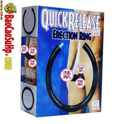vong deo duong vat Quick Release Erection Ring 3 - Vòng đeo dương vật Quick Release Erection Ring tăng thời gian quan hệ!!