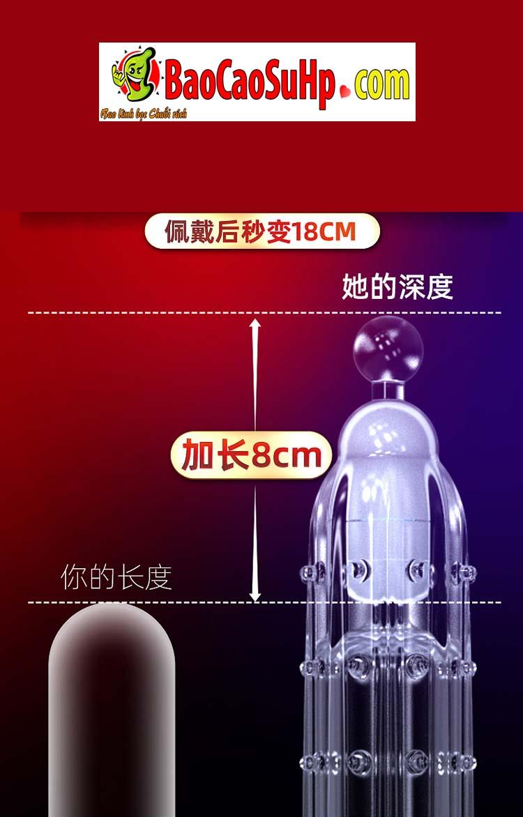 Bao cao su donden vu tru 13 - Bao cao su donden vũ trụ trong suốt rung đầu thân đưa bạn lên đỉnh