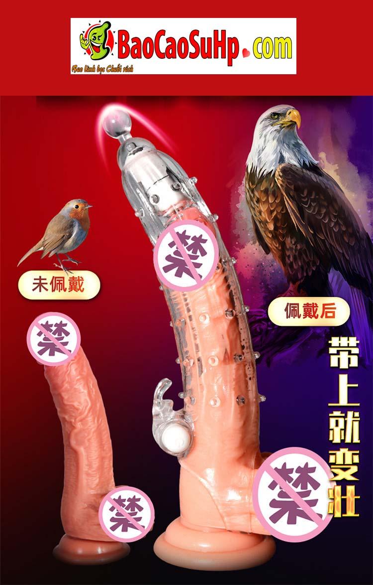 Bao cao su donden vu tru 15 - Bao cao su donden vũ trụ trong suốt rung đầu thân đưa bạn lên đỉnh