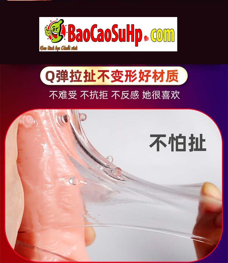 Bao cao su donden vu tru 18 - Bao cao su donden vũ trụ trong suốt rung đầu thân đưa bạn lên đỉnh