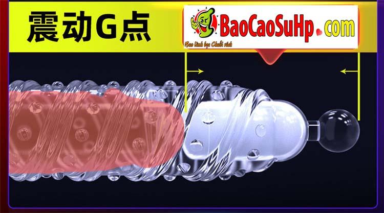 Bao cao su donden vu tru 21 - Bao cao su donden vũ trụ trong suốt rung đầu thân đưa bạn lên đỉnh