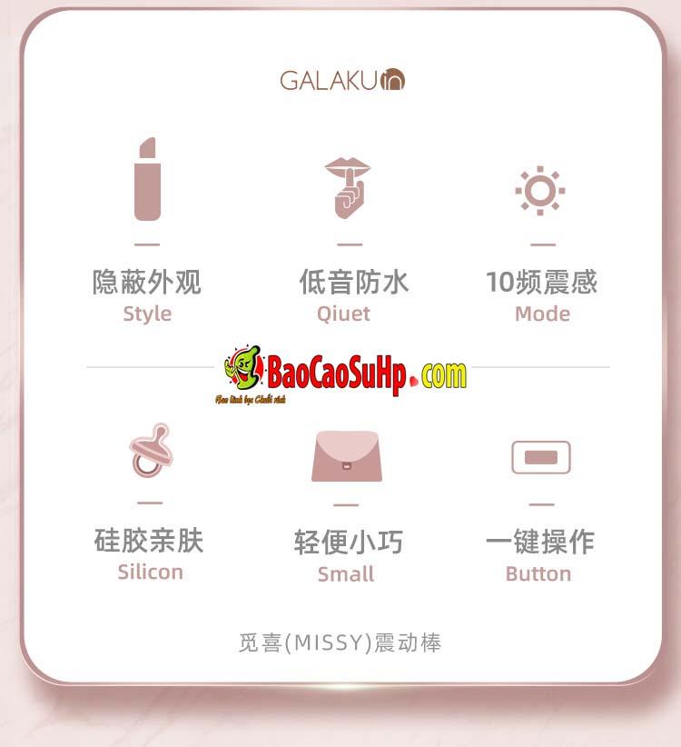 son rung Galaku Missy 7 - Sextoy Son rung Nhật Bản Galaku Missy Điệu đẹp, sướng!