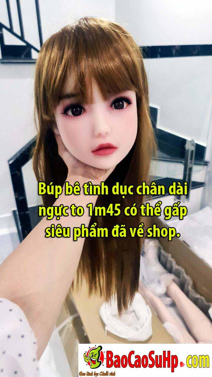 bup be tinh duc 1m45 chan dai ve shop - Búp bê tình dục chân dài ngực to 1m45 có thể gấp siêu phẩm đã về shop.