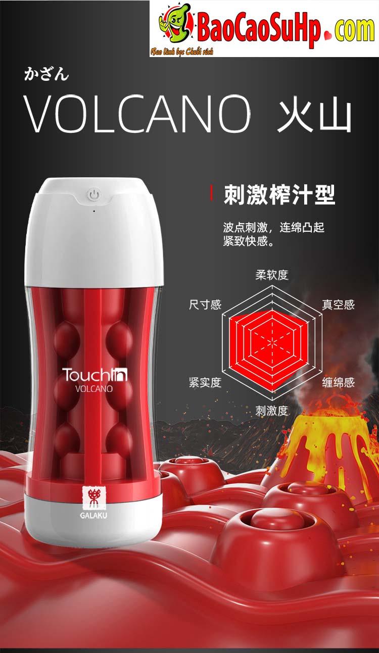 coc am dao Galaku Touch In 27 - Cốc âm đạo nhập khẩu Galaku Touch kết cấu 5D kết hợp rung cực mạnh
