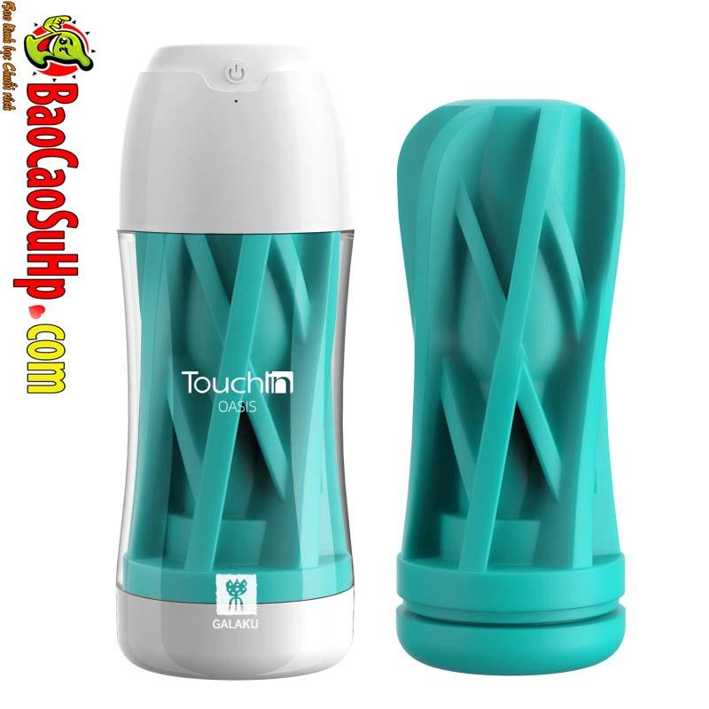 coc am dao Galaku Touch In 38 - Cốc âm đạo nhập khẩu Galaku Touch kết cấu 5D kết hợp rung cực mạnh