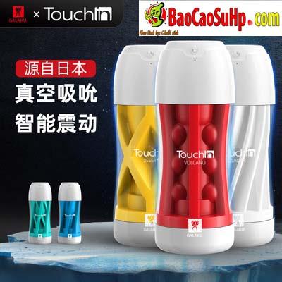 coc am dao Galaku Touch In 4 - Cốc âm đạo nhập khẩu Galaku Touch kết cấu 5D kết hợp rung cực mạnh