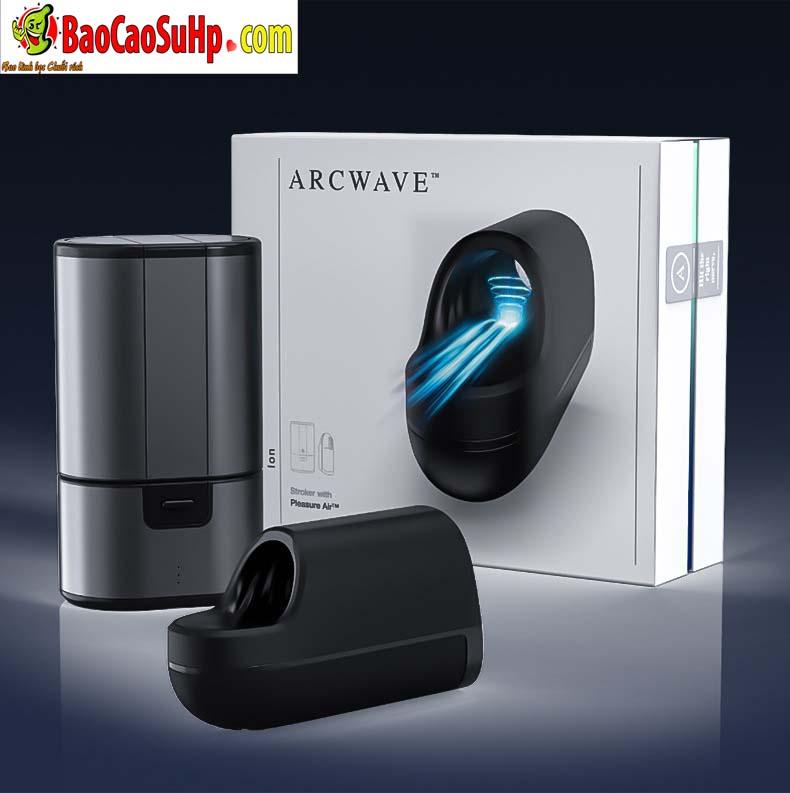 may tap duong vat We vibe Arcwave Ion 16 - Máy tập dương vật We-vibe Arcwave Ion nâng tầm cực khoái