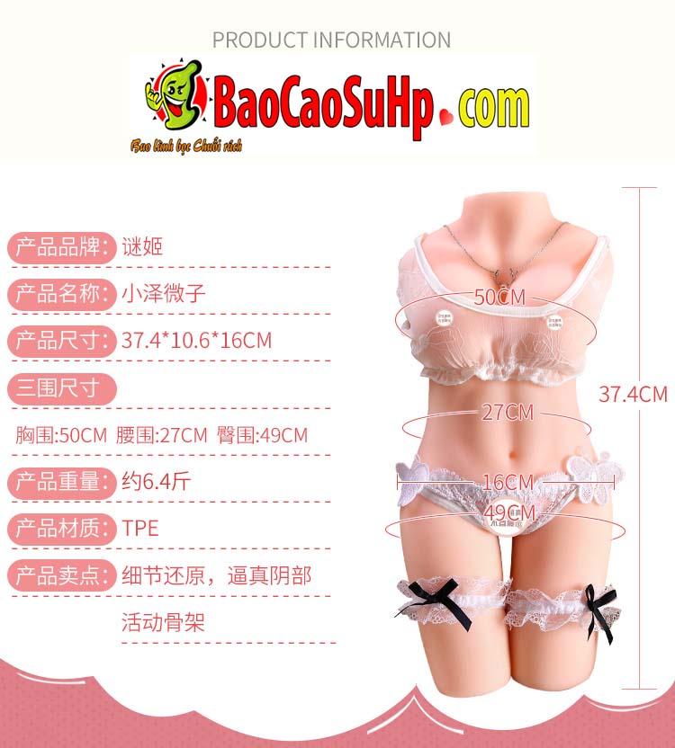 bup be tinh duc microzi Ozawa 12 - Búp bê tình dục bán thân giá rẻ microzi Ozawa có chân