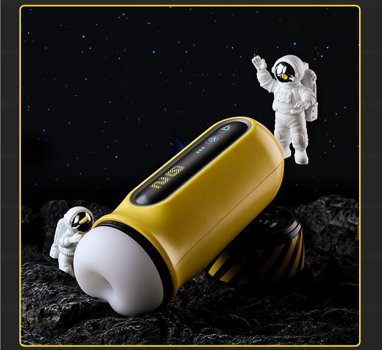coc thu dam Mizzzee Illusion Yellow 26 - Cốc âm đạo tự động đa năng hiện đại Mizzzee Illusion Yellow co bóp
